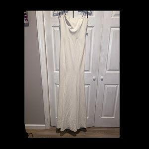 White Vera wang wedding dress